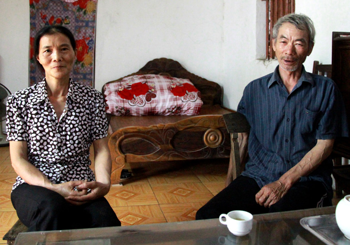 Vợ chồng ông Chương coi lương y Nguyễn Quý Thanh như thánh sống