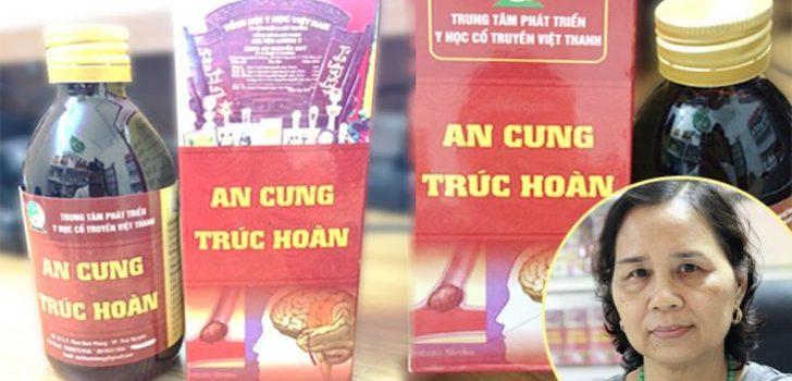 Địa chỉ mua An Cung Trúc Hoàn tại hà nội 100% của lương y Nguyễn Quý Thanh