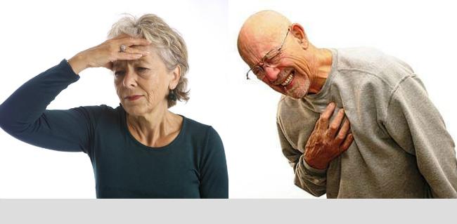 Phân biệt đột quỵ và cơn đau tim