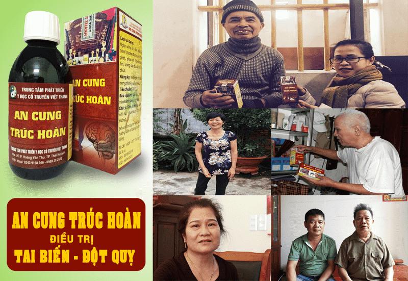 An Cung Trúc Hoàn chứa vị thuốc chữa tai biến hiệu quả
