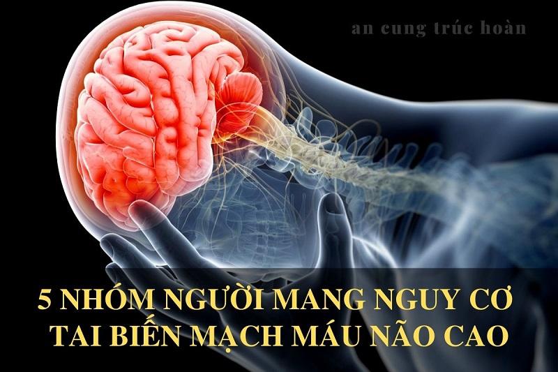 5 nhóm người mang nguy cơ tai biến mạch máu não cao